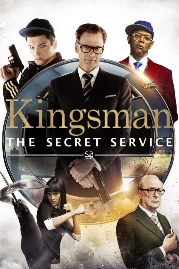 "Poster for the movie ""Kingsman: The Secret Service"""