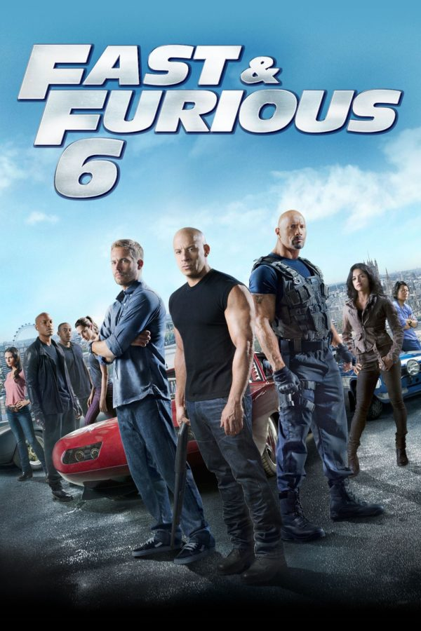 "Poster for the movie ""Fast & Furious 6"""