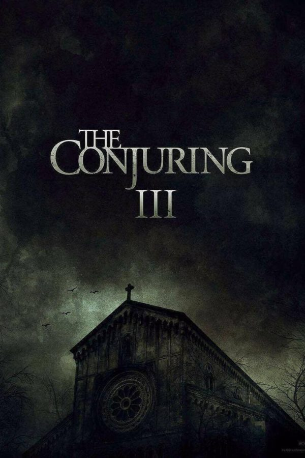 "Poster for the movie ""The Conjuring: The Devil Made Me Do It"""