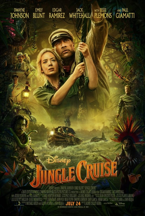 "Poster for the movie ""Jungle Cruise"""
