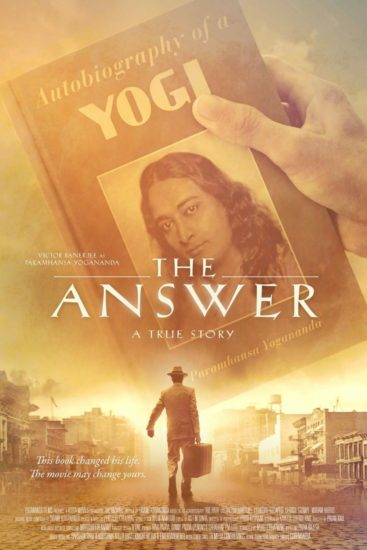 "Poster for the movie ""The Answer"""