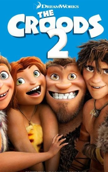 "Poster for the movie ""The Croods 2"""
