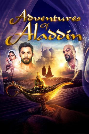 "Poster for the movie ""Adventures of Aladdin"""