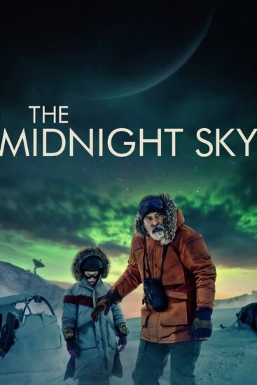 "Poster for the movie ""The Midnight Sky"""